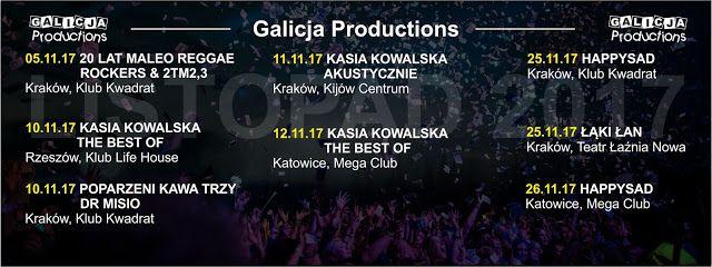Heavy Metal Music & More  : Galicja Productions prezentuje w listopadzie