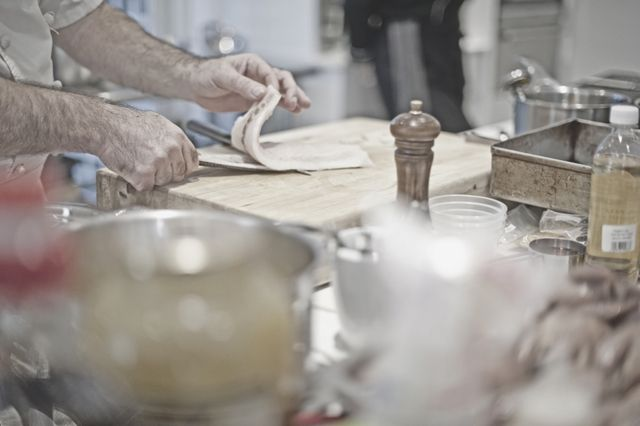 Knife Skills with Liam Tomlin October 2015 dates available on Facebook at Ginger and Lime food studio in Cape Town. Photo Adrian Shields