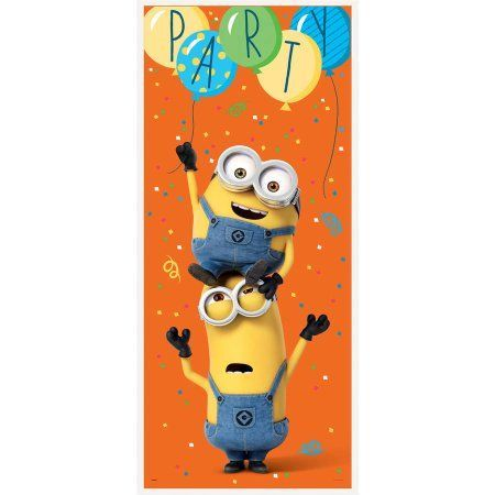 Buy Plastic Despicable Me Minions Door Poster at Walmart.com