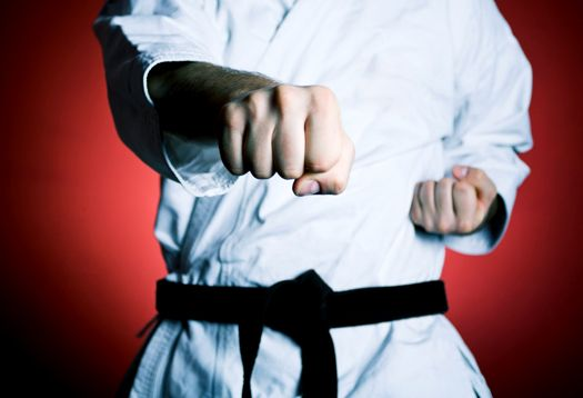 Punch test shows brain differs in karate masters