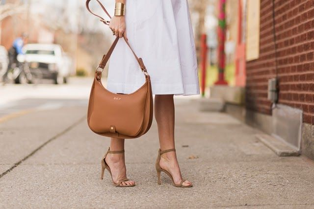 Suede Joie shoes look perfect with white + camel combinations