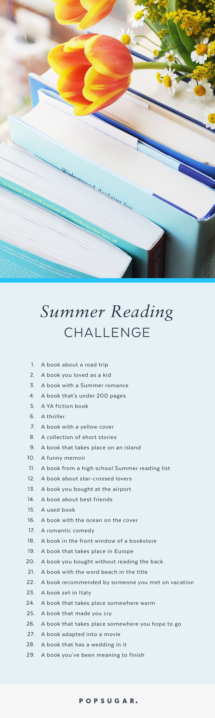 Get A Head Start On Your Summer Reading With This Epic Summer Reading  Challenge For 2016