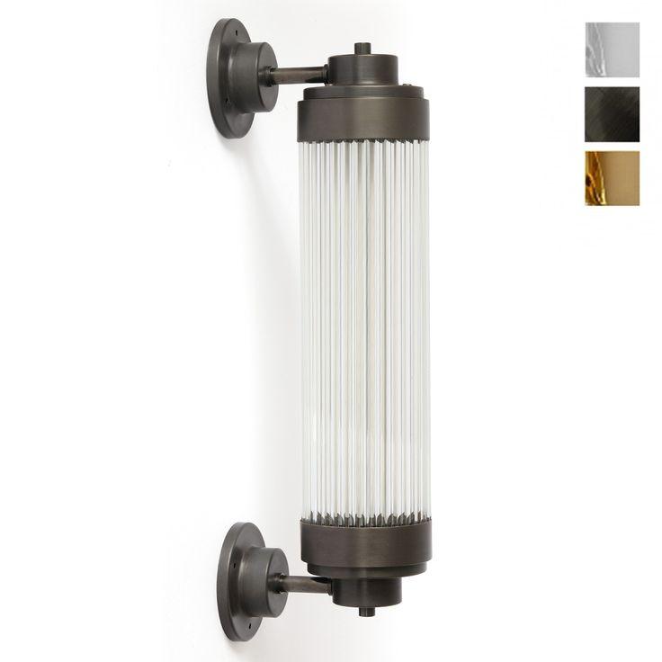 Exklusive LED-Wandleuchte, auch für Badezimmer