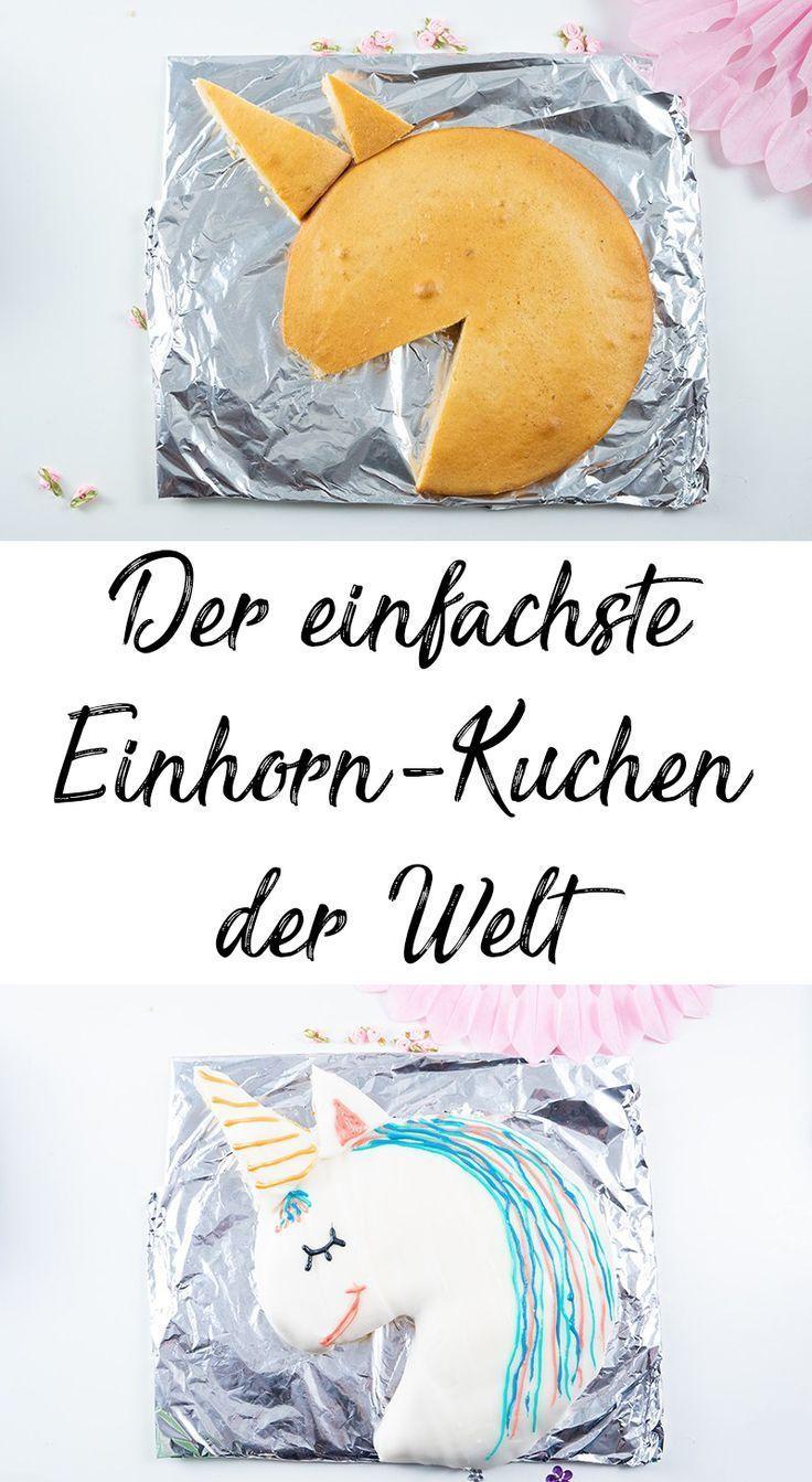 Einhornkuchen Beste Mama Rezept Geburtstag Kind It Is