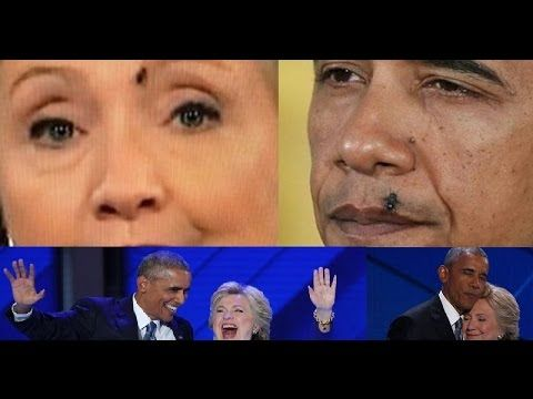 Obama and Hillary Demons! Video Proof They Are! (part 2) The blinded she...