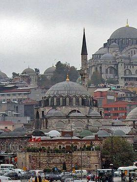 Rüstem Pacha mosque ( Turkish : Rüstem Paşa Camii ) - Wikipédia