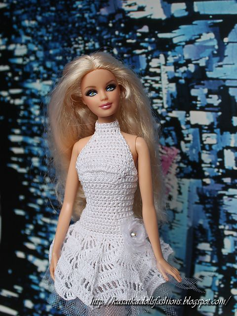 Ravelry: Gold in the Night for Barbie pattern by Oksana Lifenko