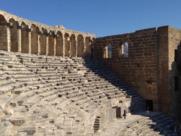Aspendos Antik Tiyatrosu şu şehirde: Antalya, Antalya