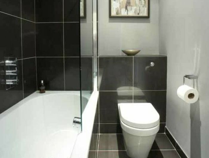 les 25 meilleures idées de la catégorie salle de bain 5m2 sur ... - Amenager Une Salle De Bain De 5m2