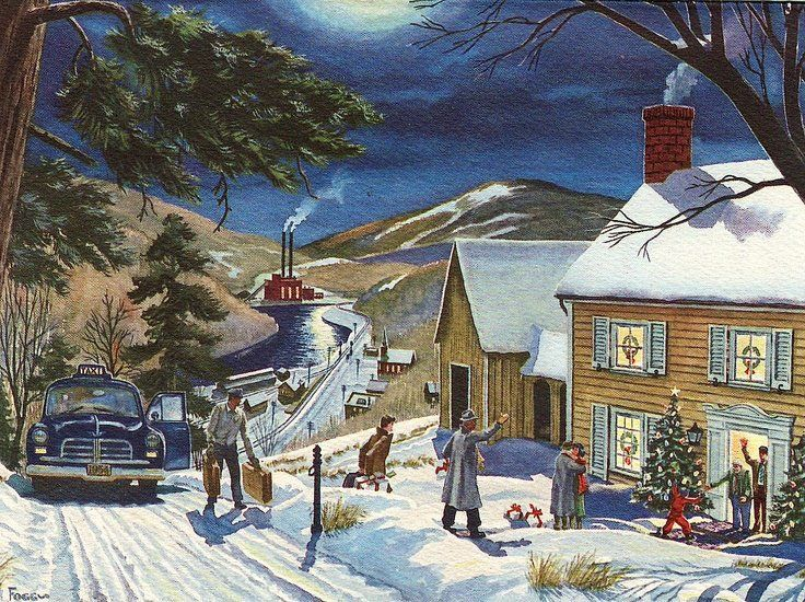 14310 Best Vintage Christmas CardsPost Cards Images On