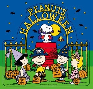 a peanuts halloween charlie brown and the whole peanuts gamg