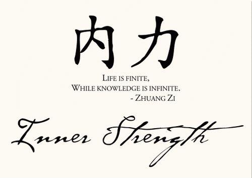 Oriental Strength Tattoo ~ http://tattooeve.com/get-the-strength-tattoos-designs/ Tattoo Design
