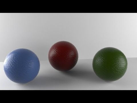 3dsmax tutorial on Leather material in corona