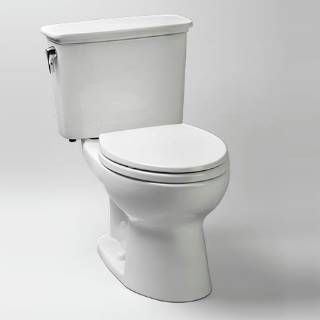 Check out the TOTO CST744EFN.10 Eco Drake® 1.28 GPF Transitional Toilet in White priced at $359.88 at Homeclick.com.