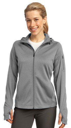 64% Off was $77.98, now is $28.05! Sport-Tek Women's Tech Fleece Full Zip Hooded Jacket