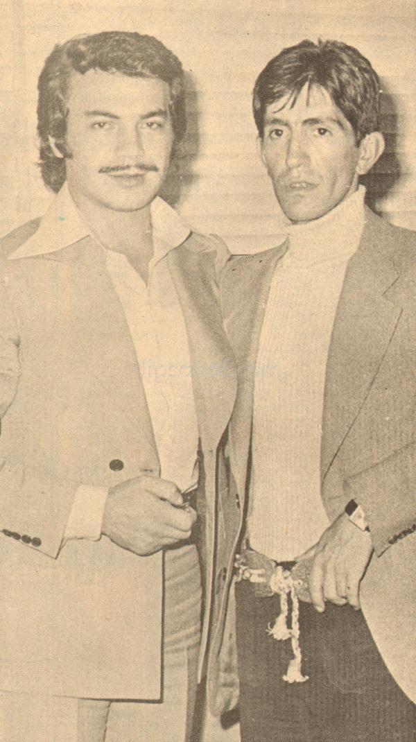 1972. Orhan Gencebay ve Barış Manço