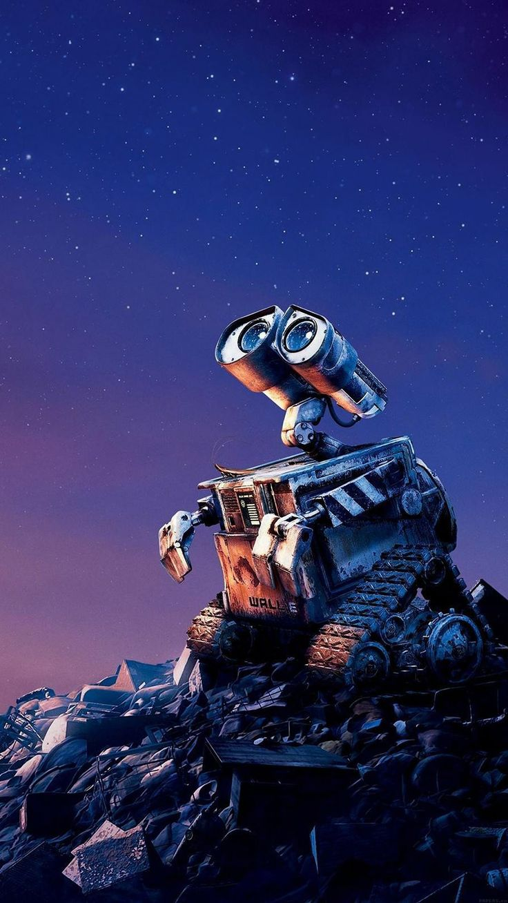 Tap image for more iPhone Disney wallpaper! Wall E Disney