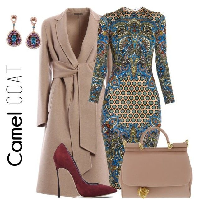 """Bottega Veneta Coat"" by arta13 on Polyvore featuring Bottega Veneta, Givenchy, Dolce&Gabbana, Casadei and Miadora"