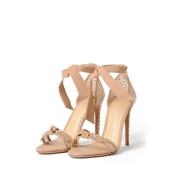 Alexandre Birman ($810) ❤ liked on Polyvore featuring shoes, sandals, high heels sandals, alexandre birman shoes, star shoes, high heeled footwear and alexandre birman sandals