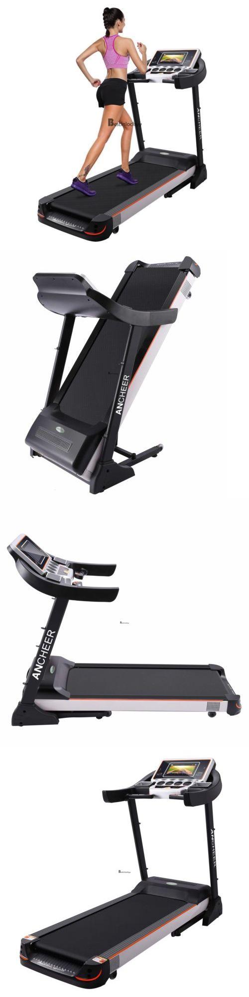 Treadmills 15280: Electric Motorized Bluetooth Mp3 Tv Treadmill Machine Folding Running Fitness -> BUY IT NOW ONLY: $699.99 on eBay!