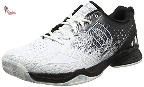 Chaussure de tennis Wilson Men Rush Pro 2.5 Clay White Pearl Blue Iron Gate-Taille 44  Blanc (wht/gllgry/dwbrry/orchdi)  Ecru (Ancient Fossil Grey Ice 271)  Sneakers Basses Homme zXb5fHDOOU