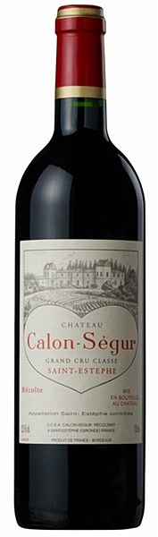 """Château Calon Ségur 2006 Saint Estèphe AOC -The 2006 Calon Segur is an elegant, classic effort that represents about 60% of their total production. Deep ruby, with forest floor, cassis, black cherry, and soil undertones in both the aromas and flavors, this is a medium to full-bodied wine. A success for the vintage, it exhibits fine density, moderately high but sweet tannins, and alluring texture, and fine purity."""" Wine Advocate"""
