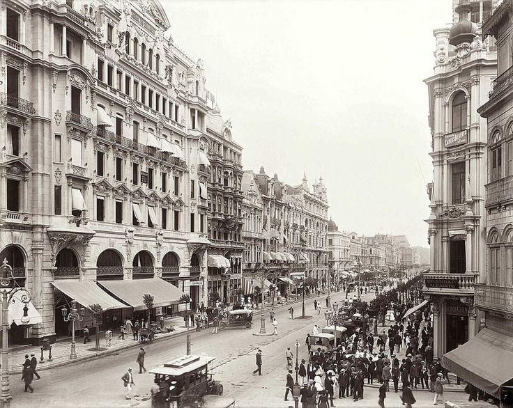 Rio de Janeiro, 1906. Foto de Marc Ferrez.