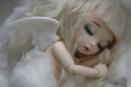 sleeping baby angel | Muñeca | Pinterest