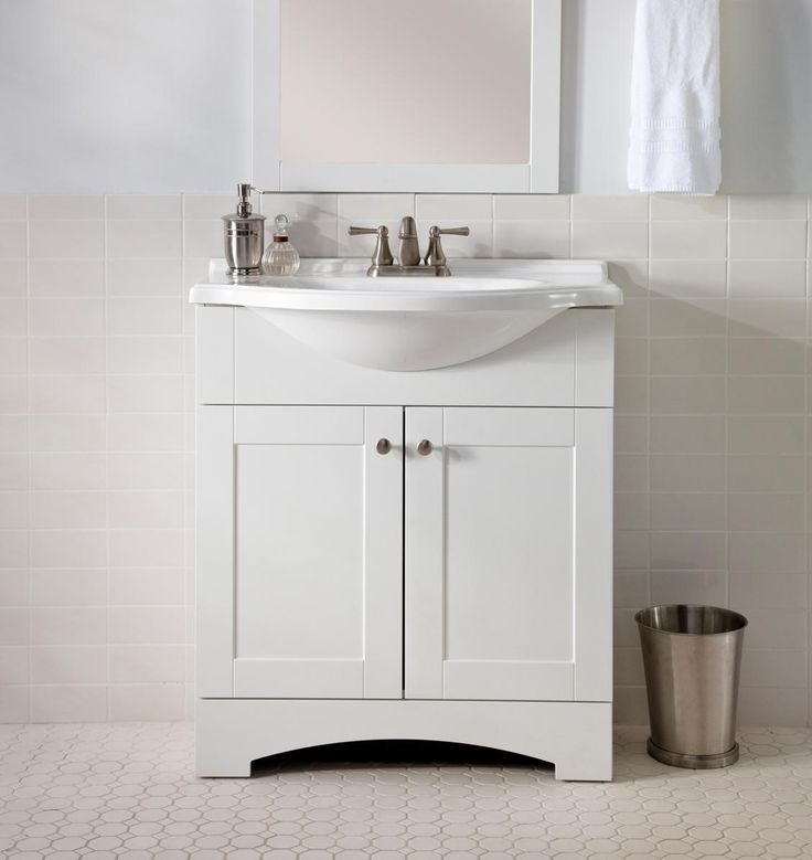 Narrow Bathroom Cabinet White