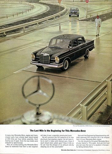 1963 Mercedes Benz Advertising Car and Driver Magazine May 1963 | Flickr - Photo…