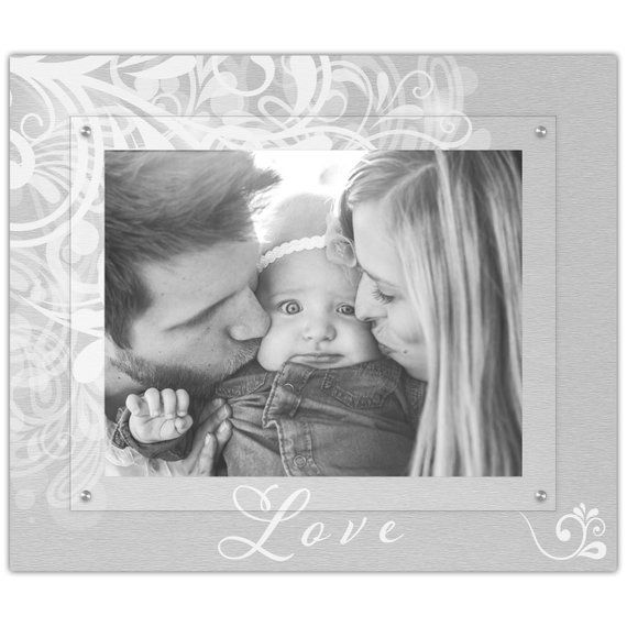 Family Script Love Flourish Picture Frame 11x14 Landscape Photo Frame Modern Floating Gallery Wall Frame With Images Gallery Wall Frames Frames On Wall Angle Pictures