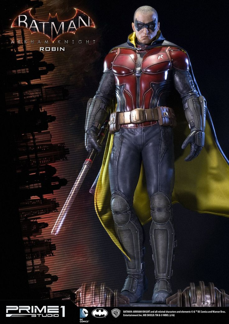 "Prime 1 Studios Batman Arkham Knight: Robin(Tim Drake) Statue ""I won't let you down, Bruce. I'll keep fighting. Always."" Prime 1 Studio is proud to present MMDC-06 ROBIN from the Batman Arkham. Tim..."