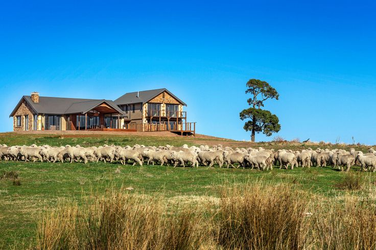 Grand Designs Australia Sheep Station Farm house Interiors
