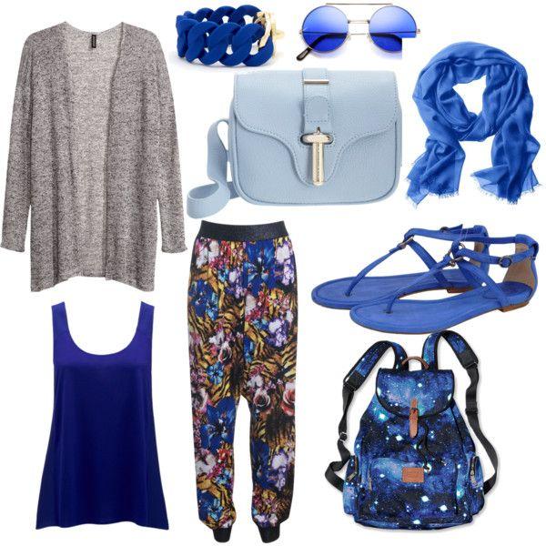"""blue chic"" by nurulcnisa on Polyvore"