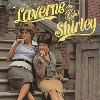 """{Small Screen} Loved this show. Penny Marshall as Laverne De Fazio & Cindy Williams as Shirley Feeney, single roommates who worked as bottlecappers in a fictitious Milwaukee brewery called """"Shotz Brewery."""" #LaverneAndShirley #TV #1970s #1980s"""