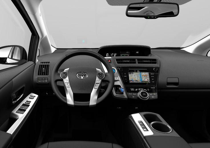 Toyota Prius + 2015 : le monospace hybride restylé
