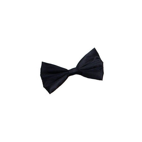 BLACK BOW TIE JAMES BOND 007 DICKIE BOW FANCY DRESS: Amazon.co.uk:... ($3.06) ❤ liked on Polyvore