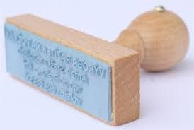 Výsledek obrázku pro dřevěná razítka