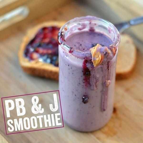 Erdnussbutter-Eiweiß-Smoothie | Iss das nicht das – 10 Weight Loss Protein …   – smoothie recipes ideas