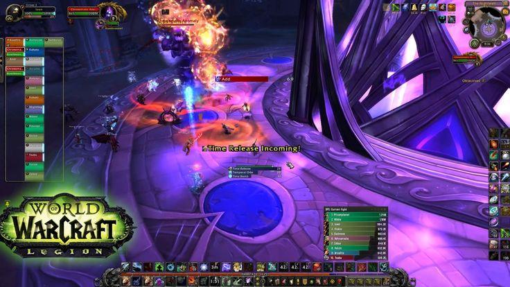 World Of Warcraft - The Nighthold - first 6 bosses HC (ilvl 900 Hunter pov)