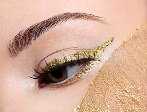 yliner oro occhi marroni