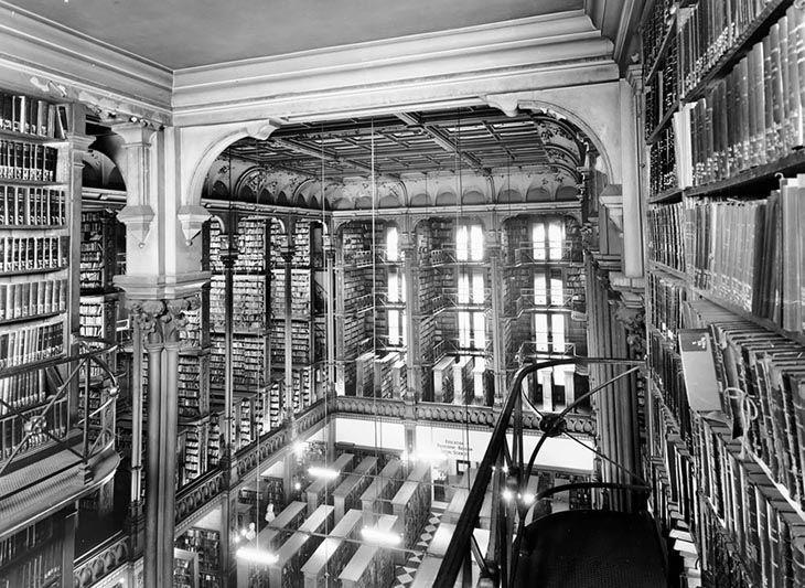 Veille bibliothèque de Cincinnati (Cincinnati, États-Unis)