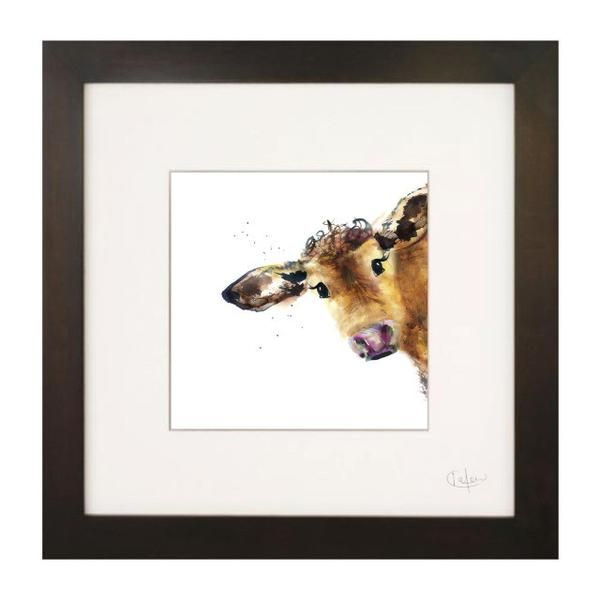 Kate Moby Framed print - Cow