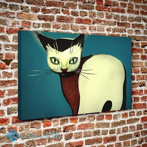 Kedi Tablo #çocuk_odası_tabloları #genç_odası_tabloları