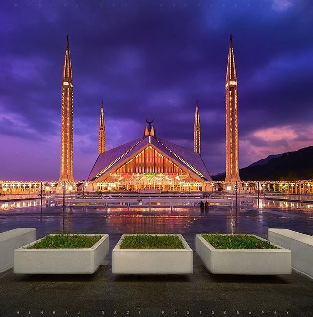 Faisal Masjid, Islamabad, Pakistan