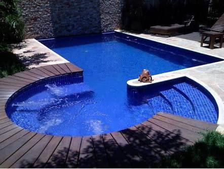 piscinas com escada de alvenaria - Pesquisa Google
