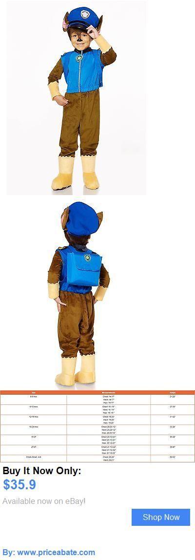 Kids Costumes: Spirit Halloween Toddler Chase Costume Deluxe - Paw Patrol 2-4T BUY IT NOW ONLY: $35.9 #priceabateKidsCostumes OR #priceabate