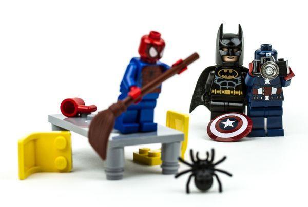 Mejores 30 im genes de lego en pinterest escena legos y - Spiderman batman lego ...