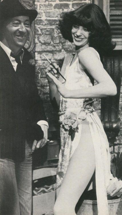 Serge Gainsbourg& Jane Birkin