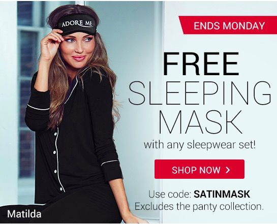 Adore Me Coupon Code: Free Clutch or Sleep Mask! - http://hellosubscription.com/2015/03/adore-me-coupon-code-free-clutch-or-sleep-mask/